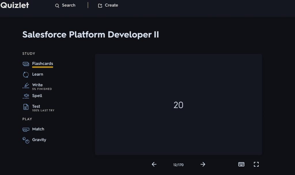 Salesforce-Platform-Developer-II-Quizlet