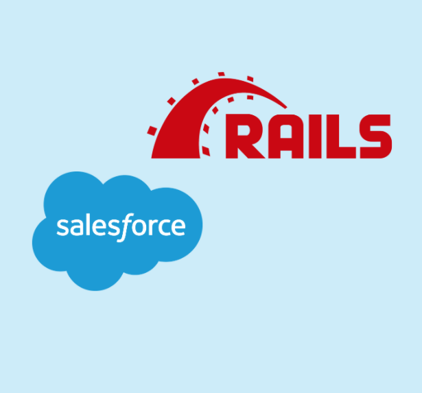 ruby on rails and salesforce