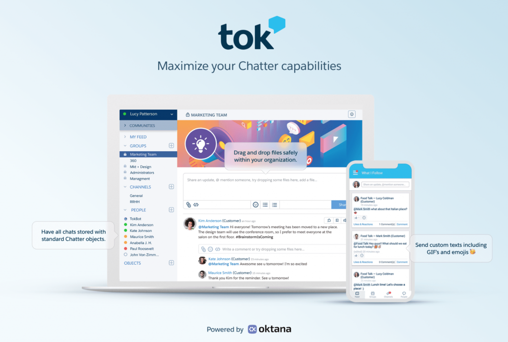 Tok - For real time communications